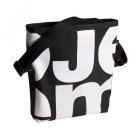 čtvercová černá taška bílá