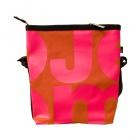 čtvercová oranžová taška růžová