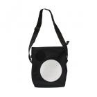 čtvercová puntíkovaná taška