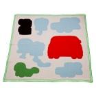 amoebas baby blanket