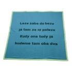 dětská deka říkanka