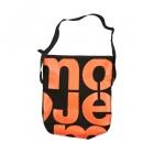 velká černá taška oranžová