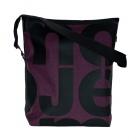 velká taška fialovo-černá